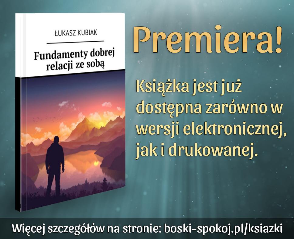 """Premiera książki """"Fundamenty dobrej relacji ze sobą"""""""
